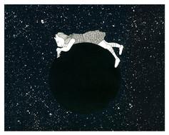 new moon, who dis? | 8 x 10 print