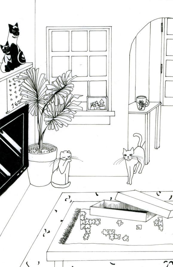 Katie Haegele   Cat Party #3