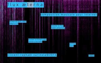 25 octobre 2017 - Flux æterna, une composition musicale pour Internet - Saint Etienne - Campus Tréfi