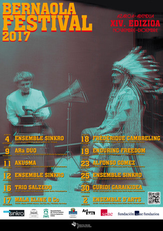 18 novembre 2017 - Le silence des sirènes et Description d'un combat au Bernaola Festival - Vito