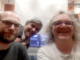 7/9 janvier 2020 - Paris - Maison de la Radio - Résidence de travail sur Flux æterna