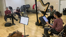 13 octobre 2020 - Conservatoire de Gennevilliers - Le Fabricant de Miroirs, avec le Trio Salzedo