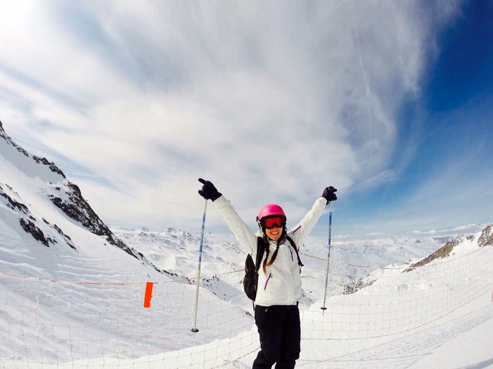 Kat Winny Life Coach Skiing