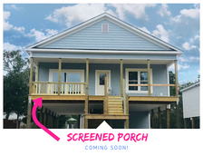 SCREENED PORCH GOING HERE