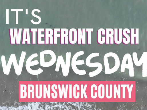 🌊 Waterfront Crush Wednesday 🌅 July 22nd