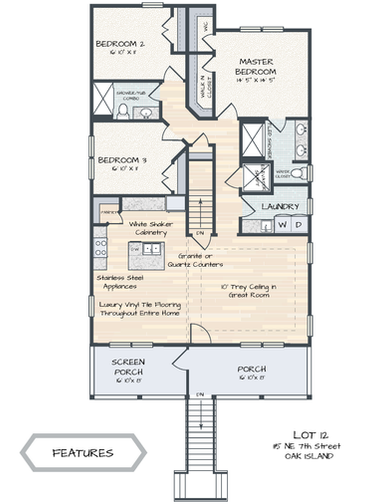 115 NE 7th Street Floor Plan