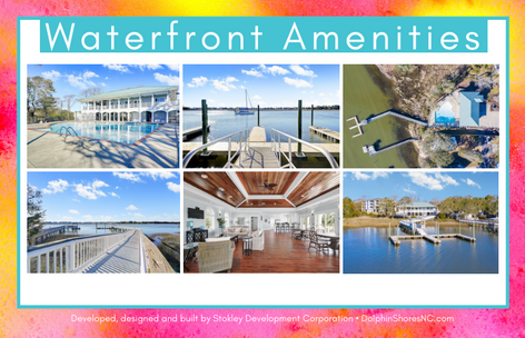 Dolphin Shores Waterfront Amenities