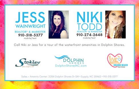 Call Jess or Niki