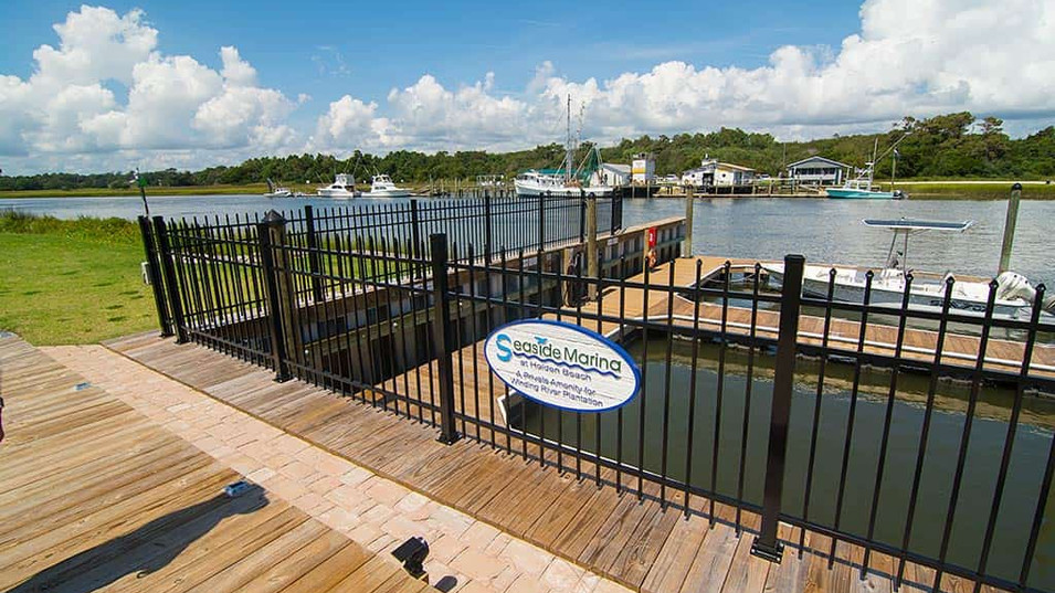 Seaside Marina in Holden Beach - Winding