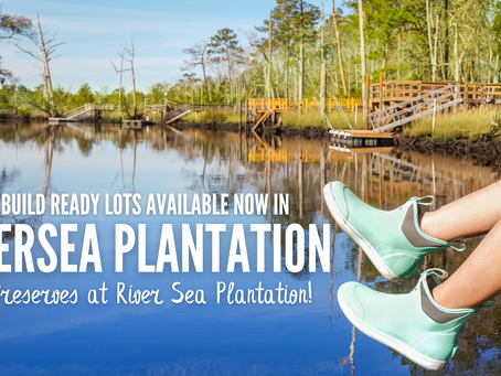 Builder, Investor opportunity! Here is your chance to make a mark on RiverSea Plantation!