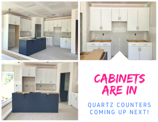 CABINETS ARE IN! YAY!