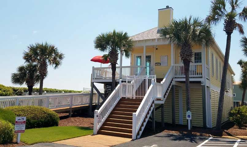 BEACH HOUSE IN HOLDEN BEACH Winding-Rive