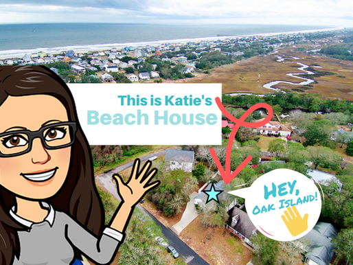 Hello 👋 from Oak Island 🏖️. This is Katie. And this is Katie's Beach House 🌊.