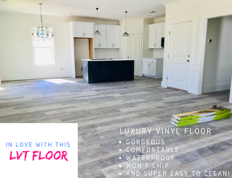 IN LOVE WITH LVT FLOORS