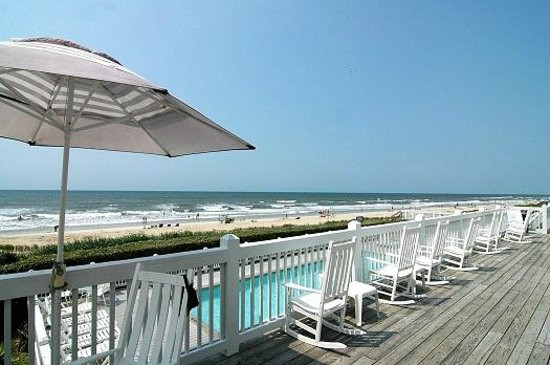 Oceanfront Pool at Holden Beach - Windin