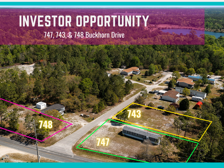 Incredible Investor Opportunity 4 miles from Holden Beach! SOLD!
