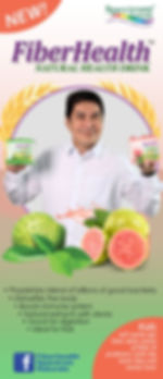 Tulfo at Fiber Health Juice