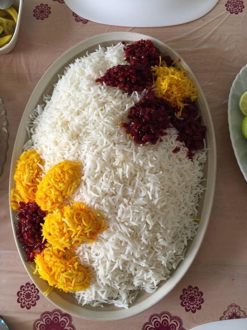 Saffron Rice With Berries