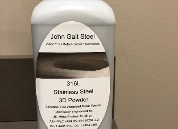 316/L Gas Atomized Powder 11lb GROUND SHIPPING