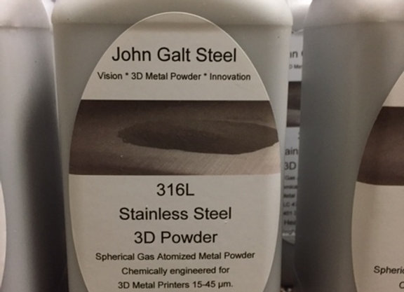 316/L Gas Atomized Powder 11lb NEXT DAY AIR