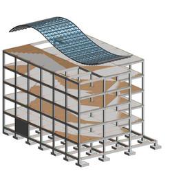 Revit Structure Concreto - Vista 3D - {3
