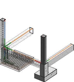 Revit Structure Concreto - Vista 3D - 3D ZAPATA ARMADO.jpg