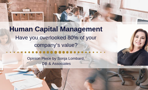 Human capital management: Have you overlooked 80% of your company's value?