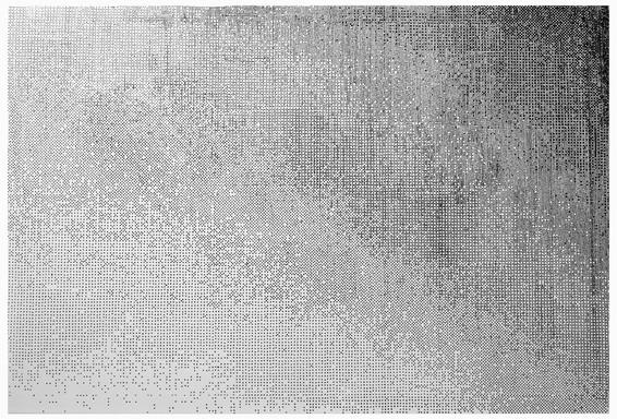 Lichtverlauf Hütte HP 940c, Druckeinstellung Entwurf
