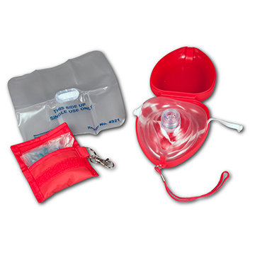 CPR Shield #4923 & CPR Mask (Hard Cs)  #2924