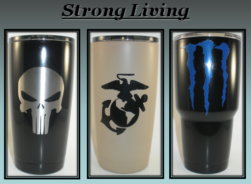 Strong Living (30 Oz.) Tumbler