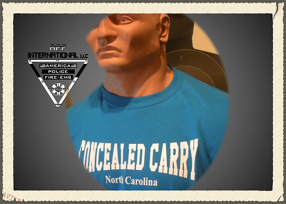 T-Shirts: Concealed Carry NC