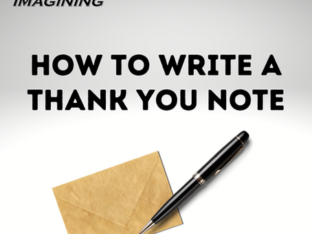 How to Write a Business Thank You Note