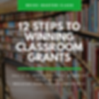 Grant Writing for Teachers - Master Clas