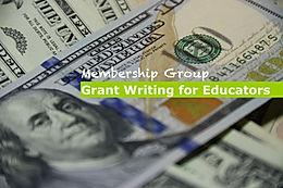 Grant Writing for Educators Exclusive Membership Group