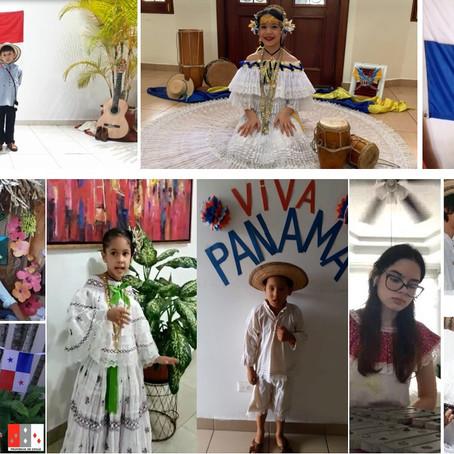 Gala Típica de identidad nacional Panamá.