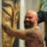 Kipp Tuers, acrylic paintings, male nudes, nudes, erotic, nudity, fantasy, romantic