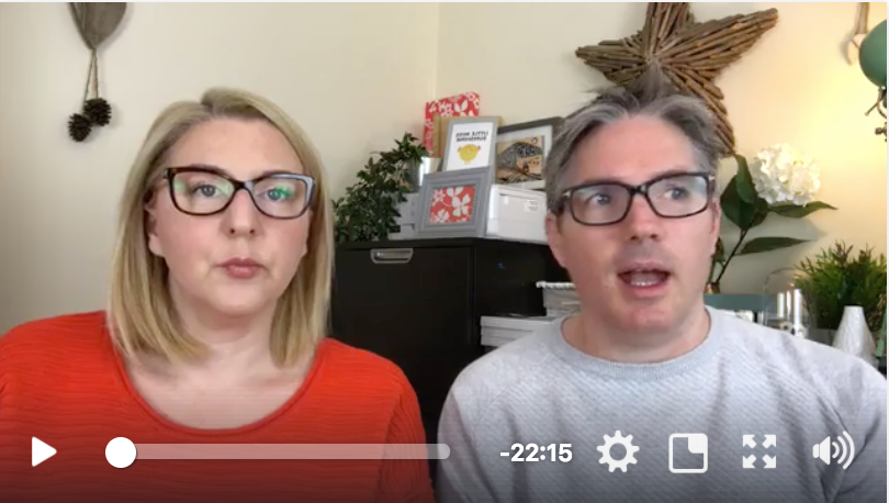 This video is of Robin and Holly commenting on the information of this page.