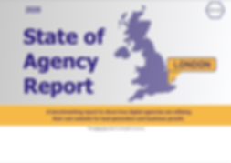 London state of agency report cover 2020