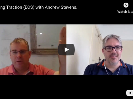Talking Traction and EOS with Andrew Stevens - for your digital agency growth.
