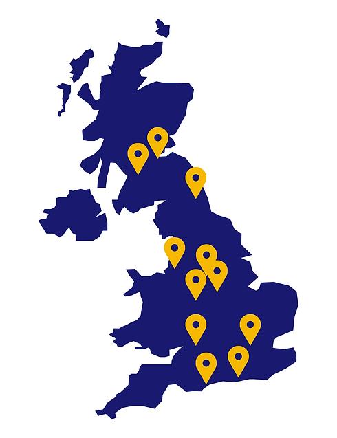 Data hive UK map