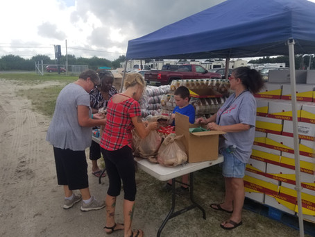 SCA Hosts a 2nd Community Food Distribution Event