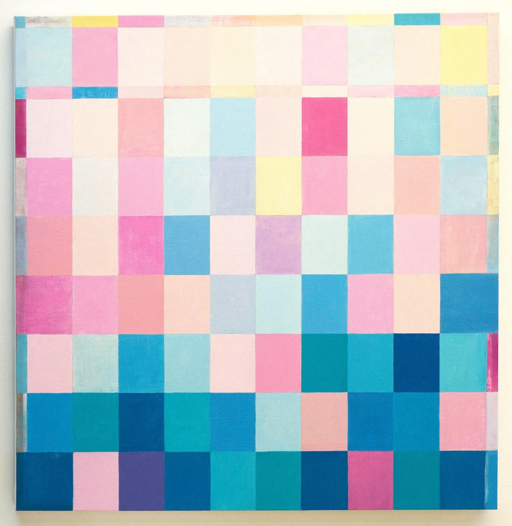 Love, 107cm x 107cm,  oil on stretch canvas, 2020