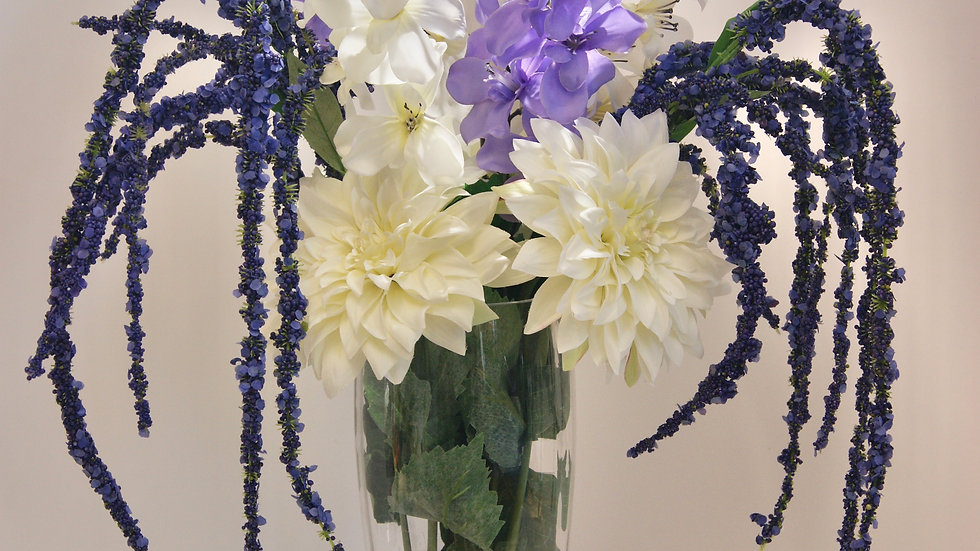 Freesias and Dahlias Arrangement