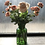 Thumbnail: Ranunculus and rose faux flower arrangement