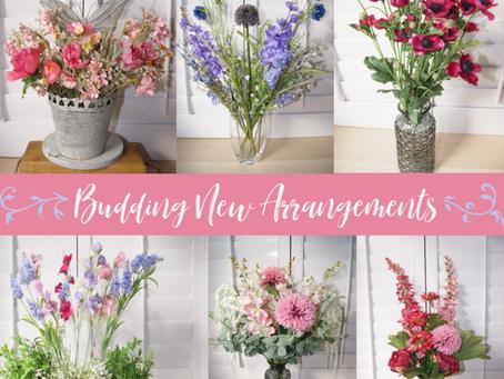 Budding new arrangements