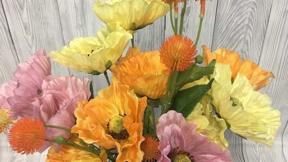 Country Poppies Arrangement