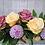 Thumbnail: Pastel rose table centrepiece