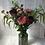 Thumbnail: Peony and vintage rose faux flower arrangement
