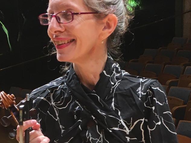 אליאנה לובנברג - ויולנית ראשונה