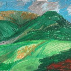 Peak District from Hathersage